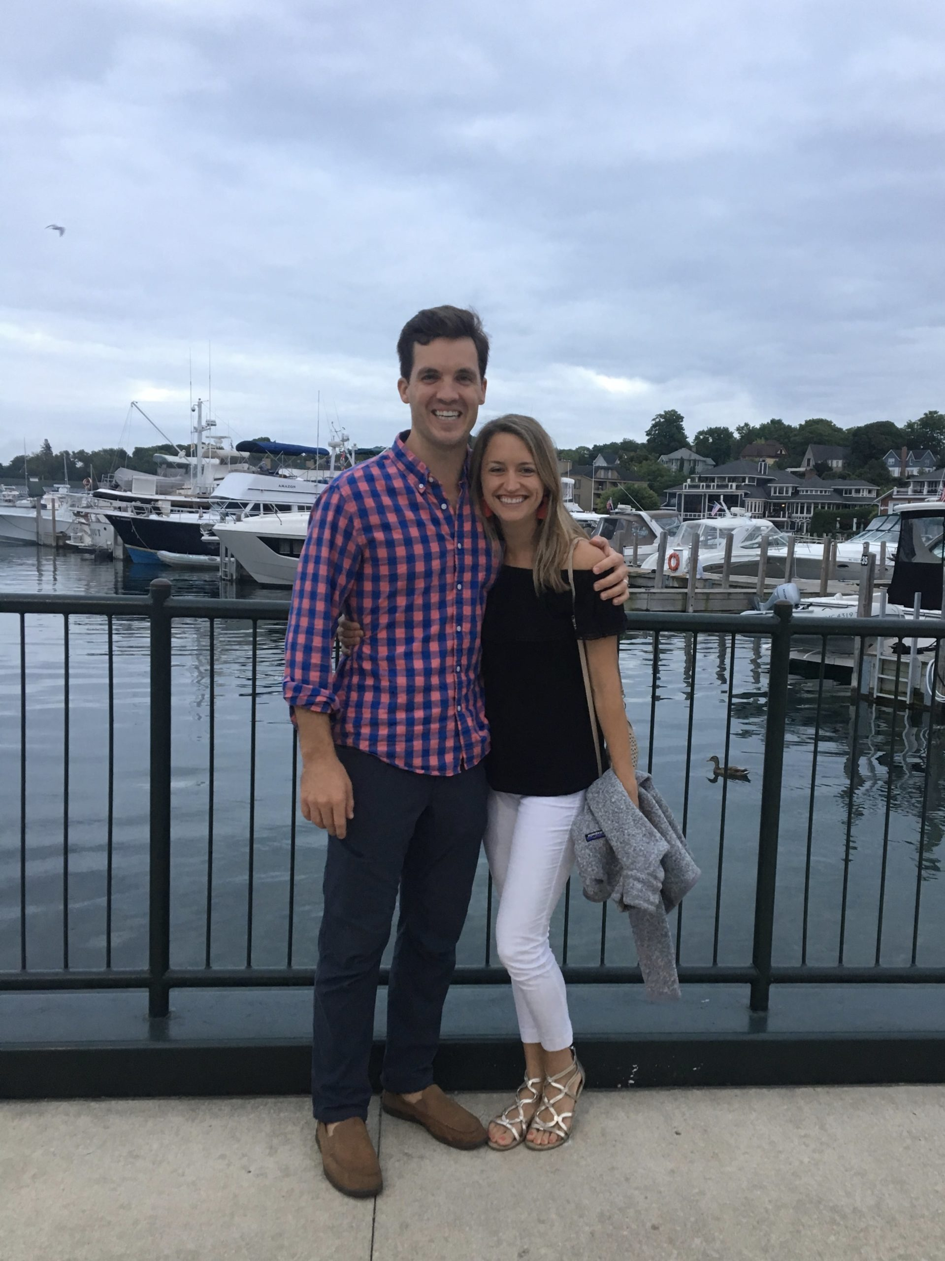 Logan Smith DDS and wife